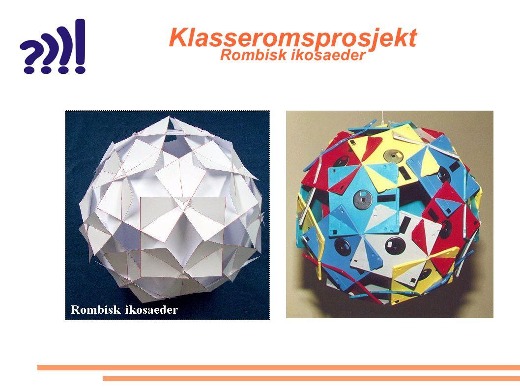 Klasseromsprosjekt Rombisk ikosaeder