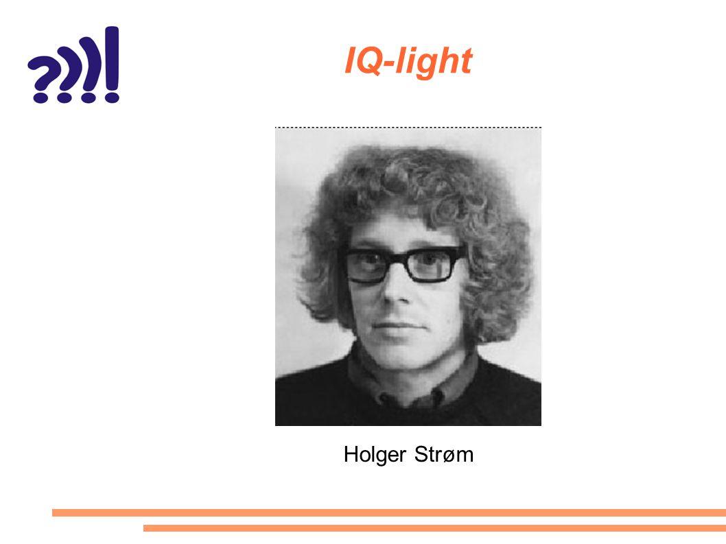 IQ-light Holger Strøm