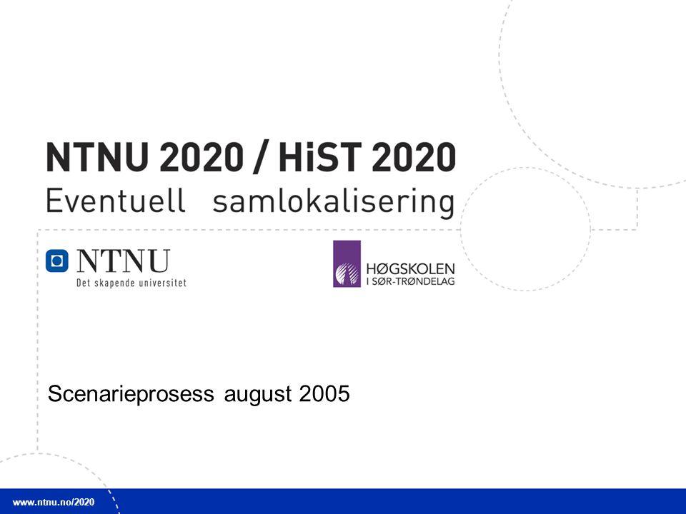 Scenarieprosess august 2005