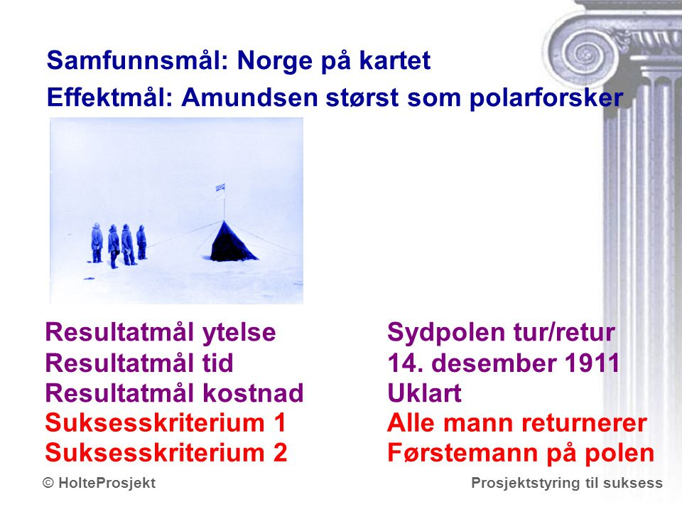 Samfunnsmål: Norge på kartet