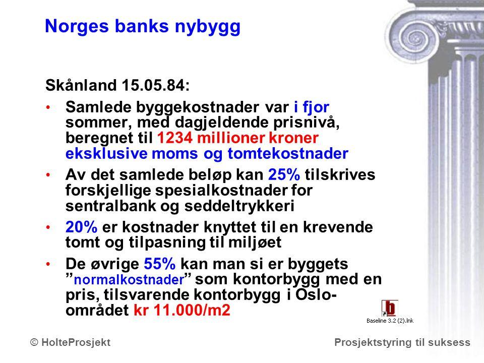 Norges banks nybygg Skånland 15.05.84: