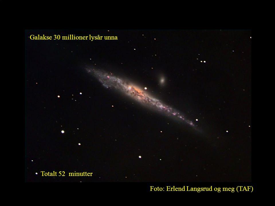 Galakse 30 millioner lysår unna
