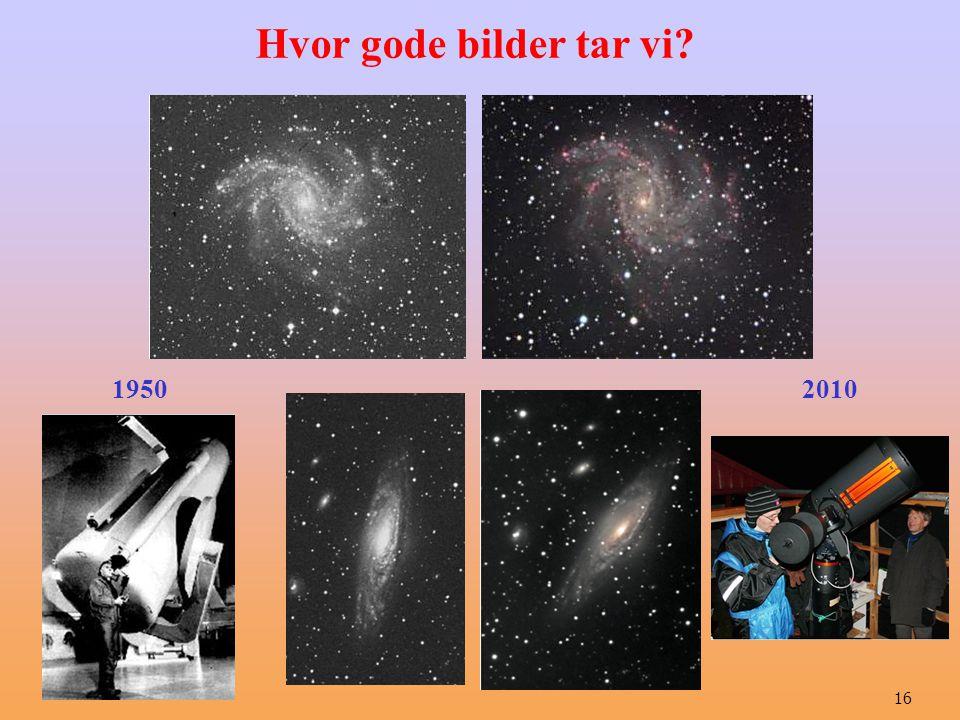 Hvor gode bilder tar vi 1950 2010 16
