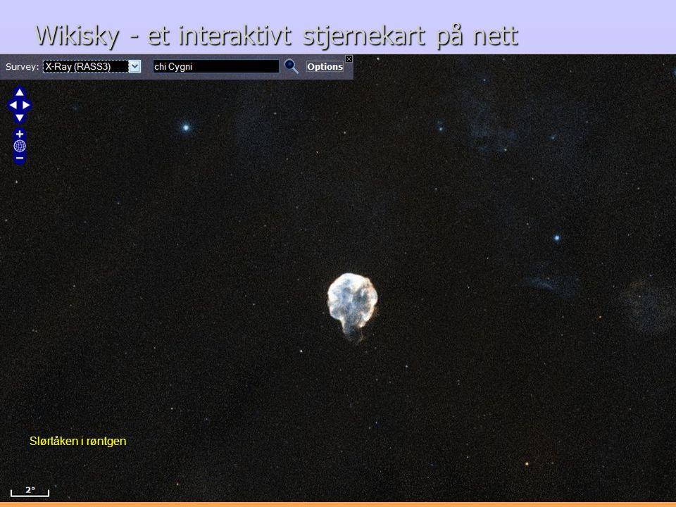 Wikisky - et interaktivt stjernekart på nett
