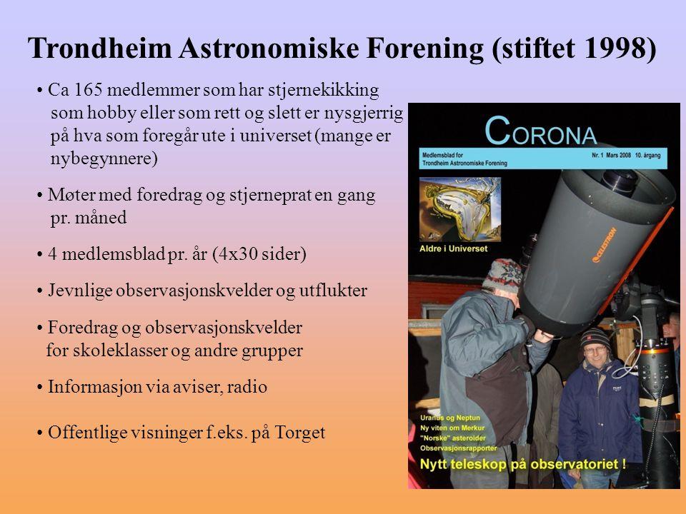 Trondheim Astronomiske Forening (stiftet 1998)