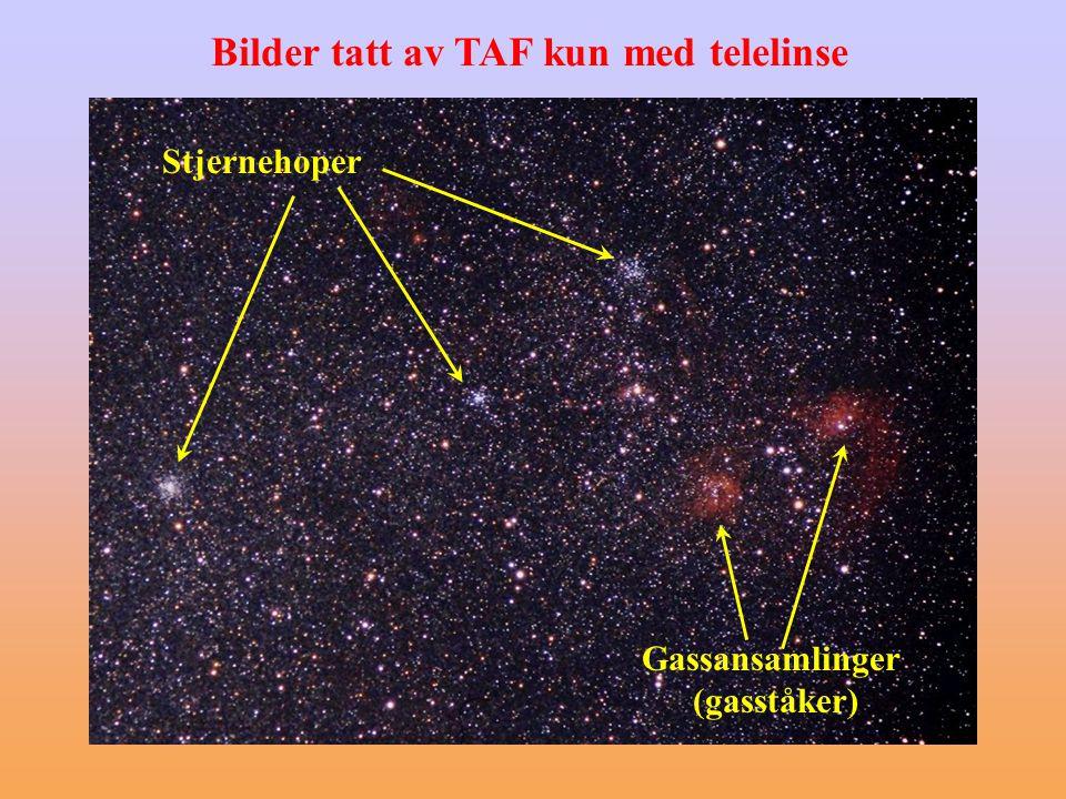 Bilder tatt av TAF kun med telelinse