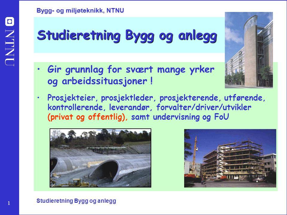 Studieretning Bygg og anlegg