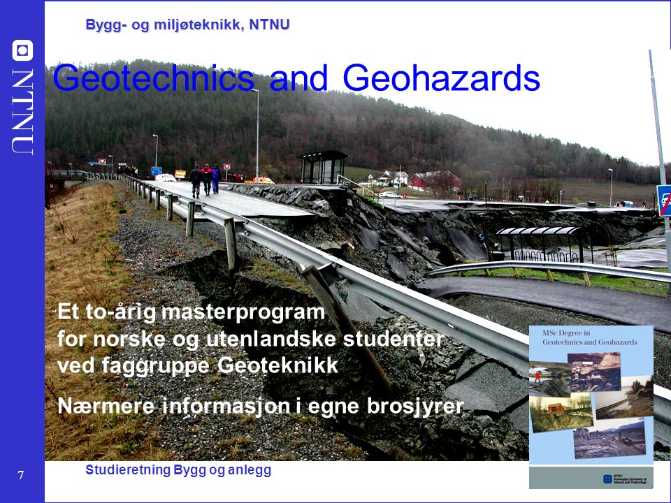 Geotechnics and Geohazards