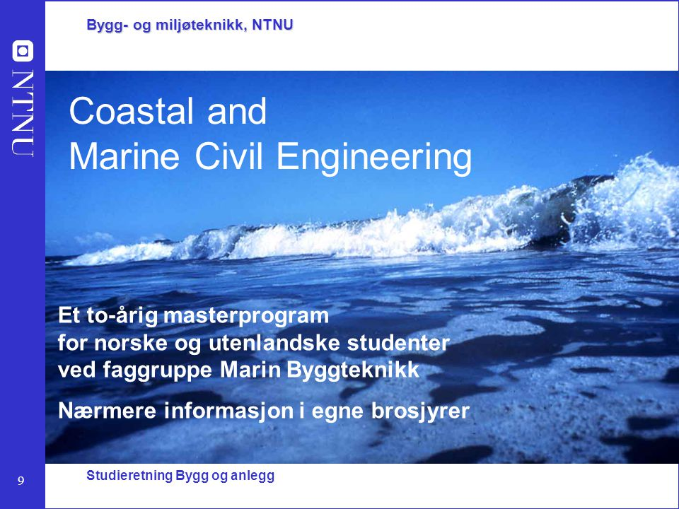 Coastal and Marine Civil Engineering