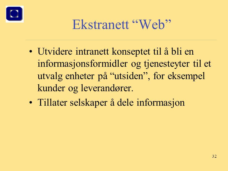 Ekstranett Web