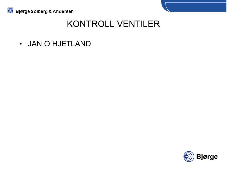 KONTROLL VENTILER JAN O HJETLAND