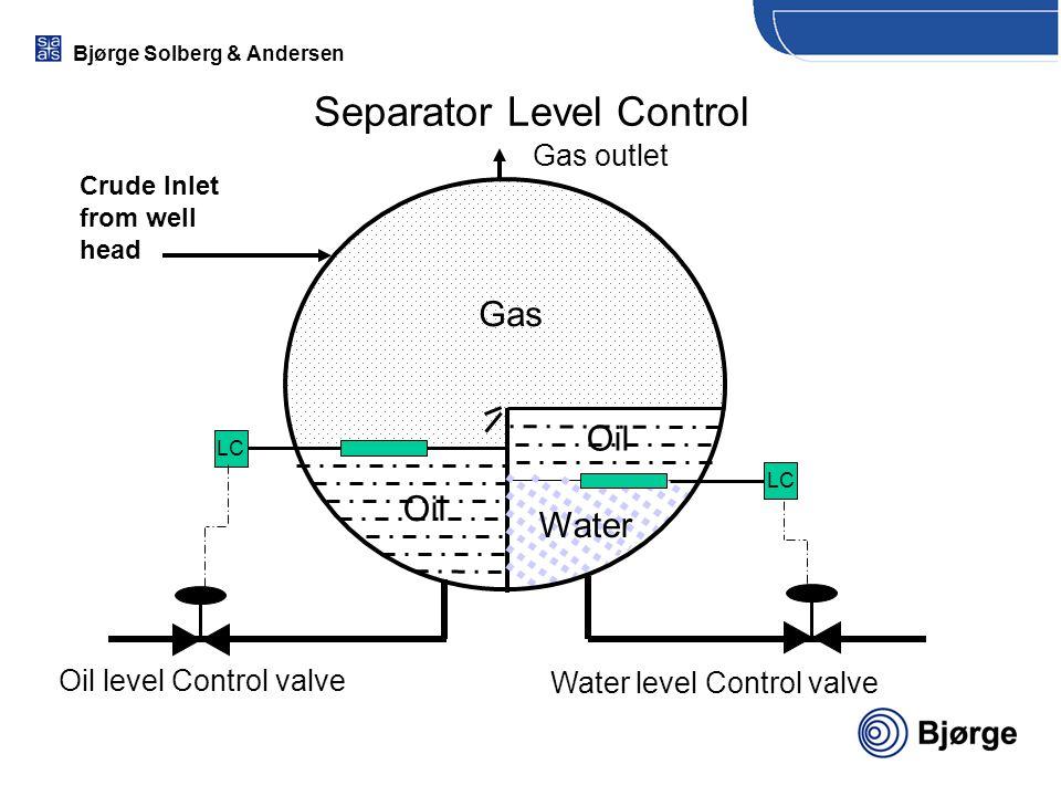 Separator Level Control