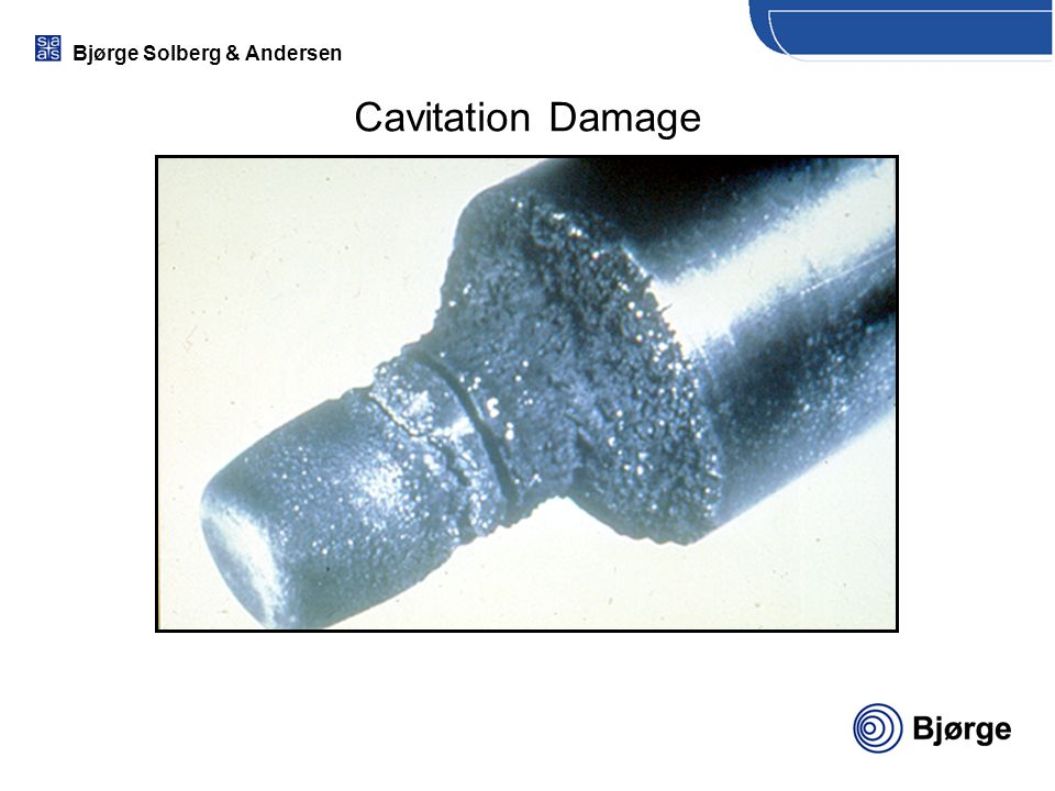 Cavitation Damage