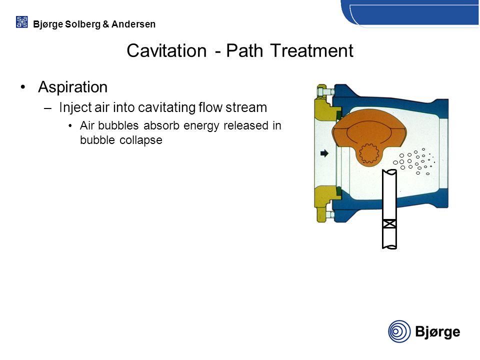 Cavitation - Path Treatment