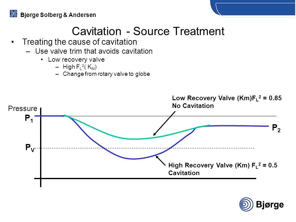 Cavitation - Source Treatment