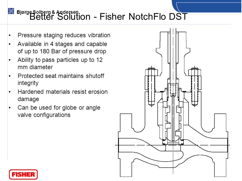 Better Solution - Fisher NotchFlo DST