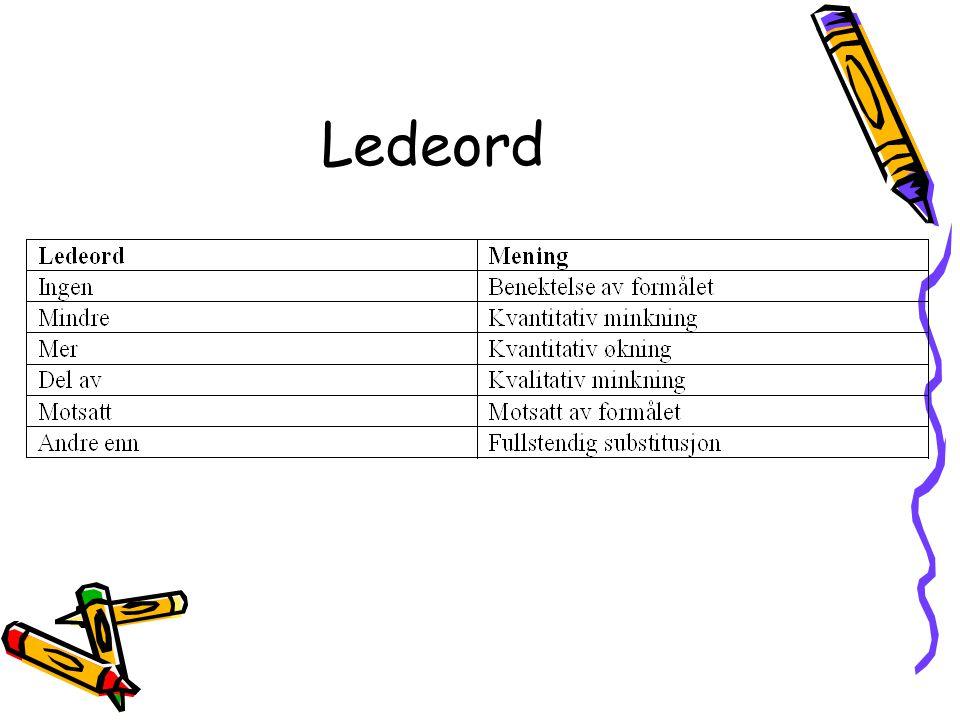 Ledeord