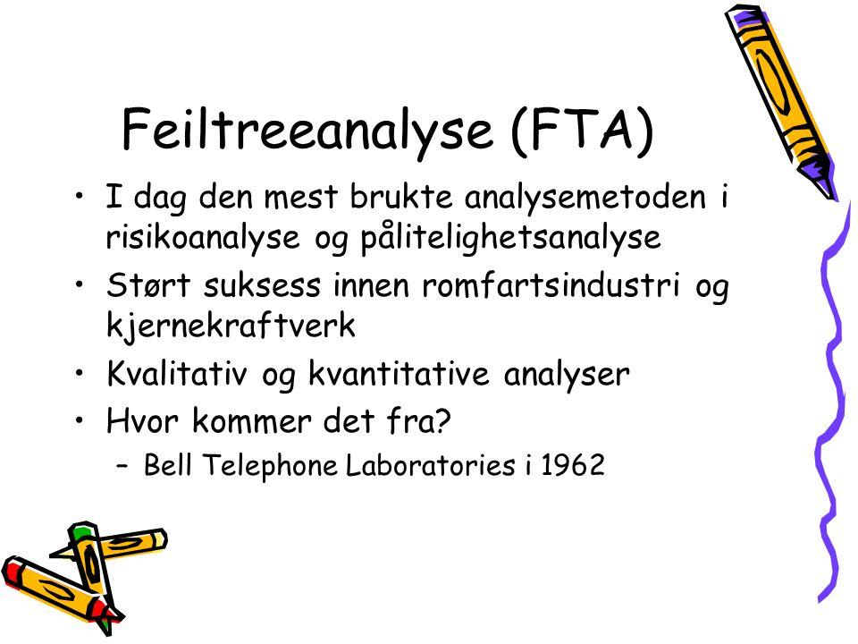 Feiltreeanalyse (FTA)