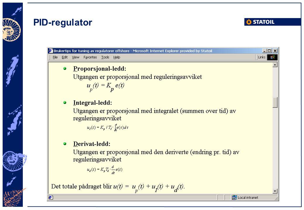 PID-regulator