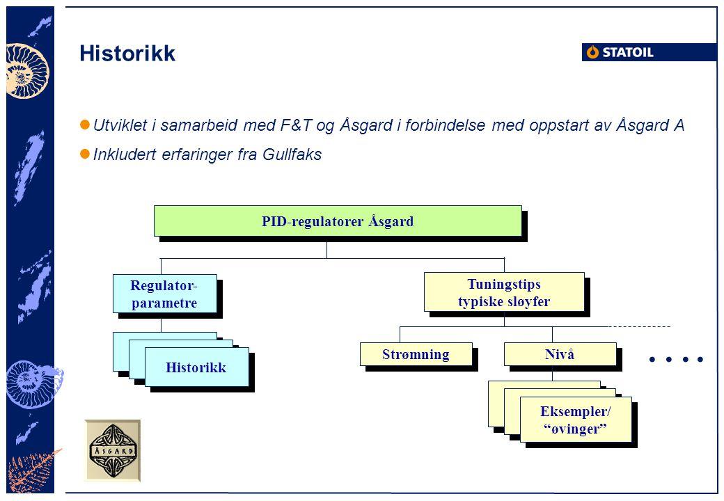 PID-regulatorer Åsgard