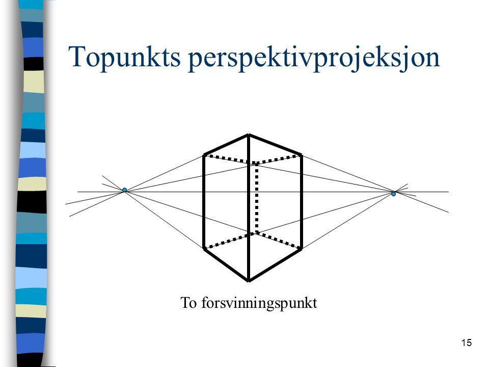 Topunkts perspektivprojeksjon