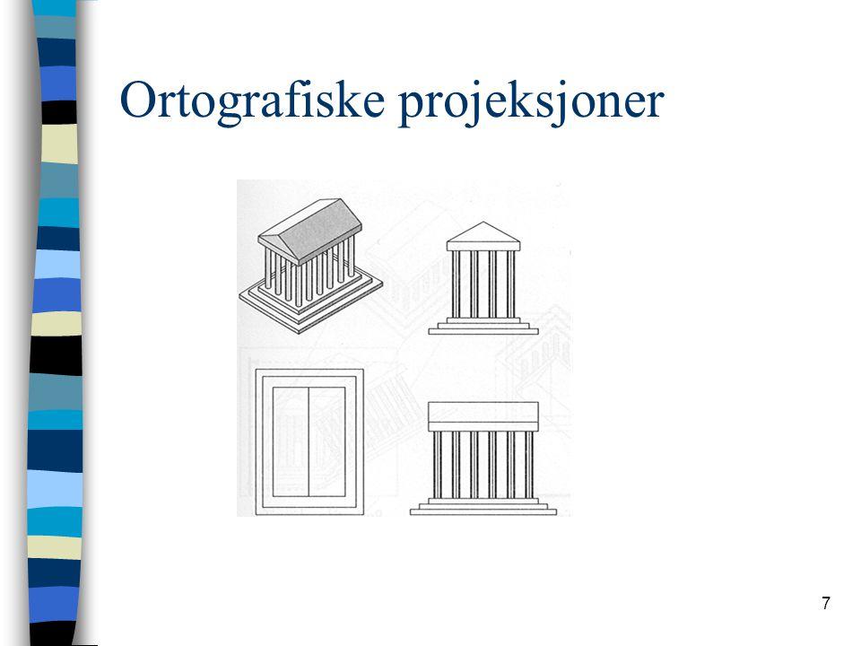 Ortografiske projeksjoner