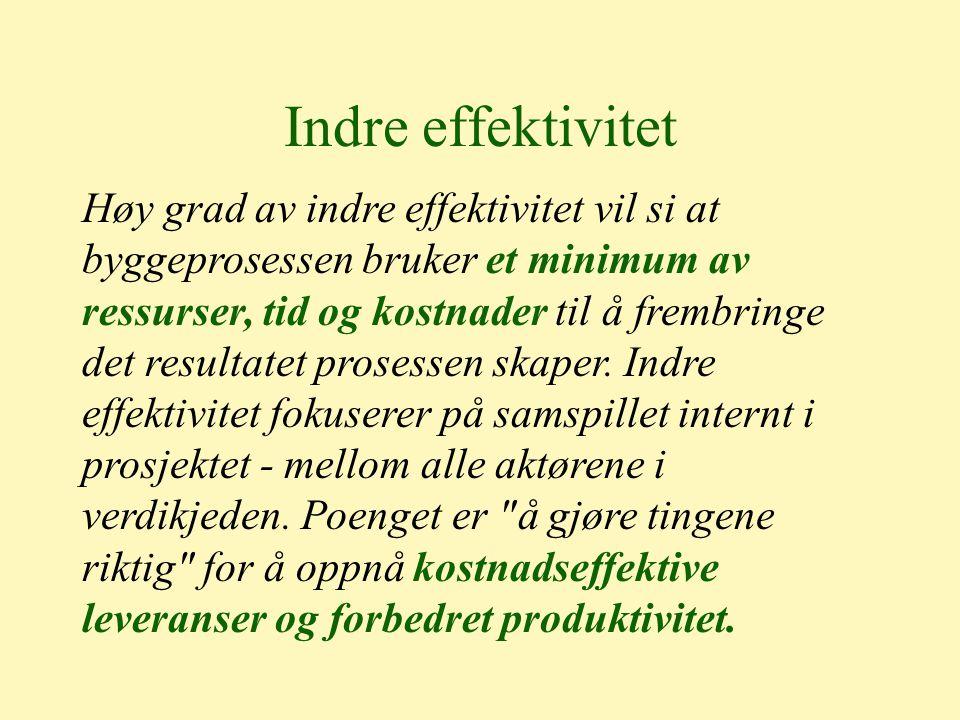 Indre effektivitet