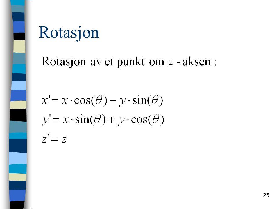 Rotasjon