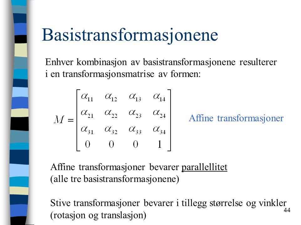 Basistransformasjonene