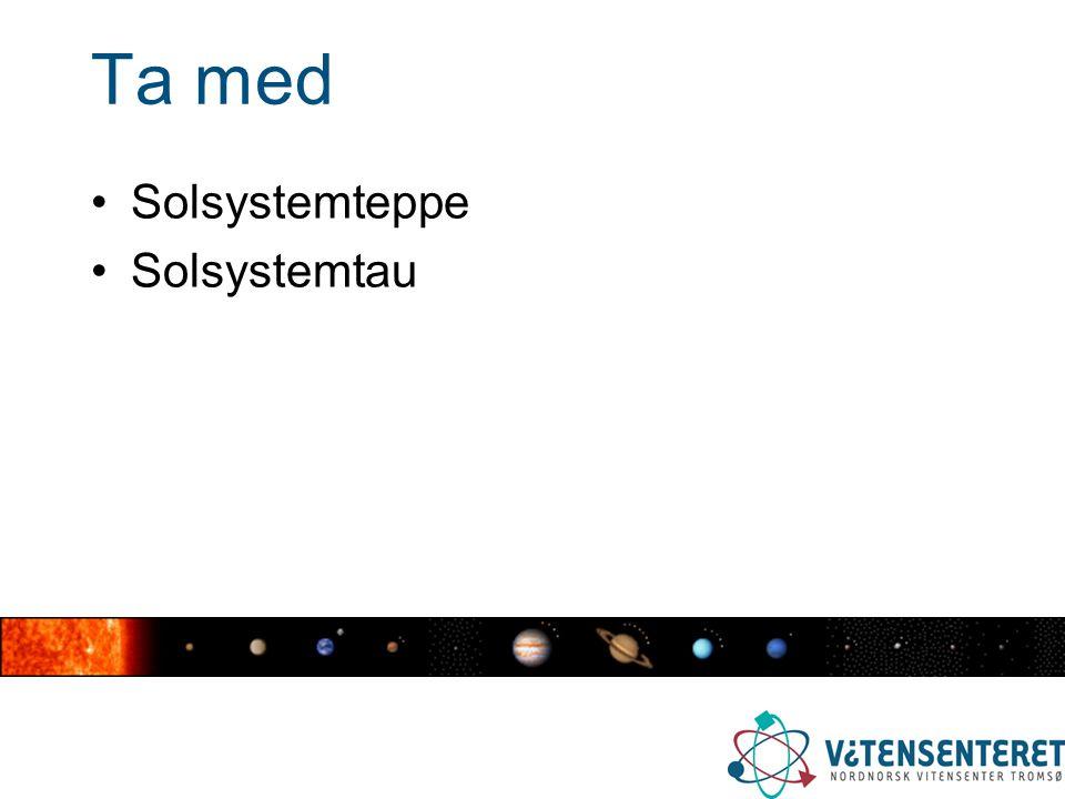 Ta med Solsystemteppe Solsystemtau