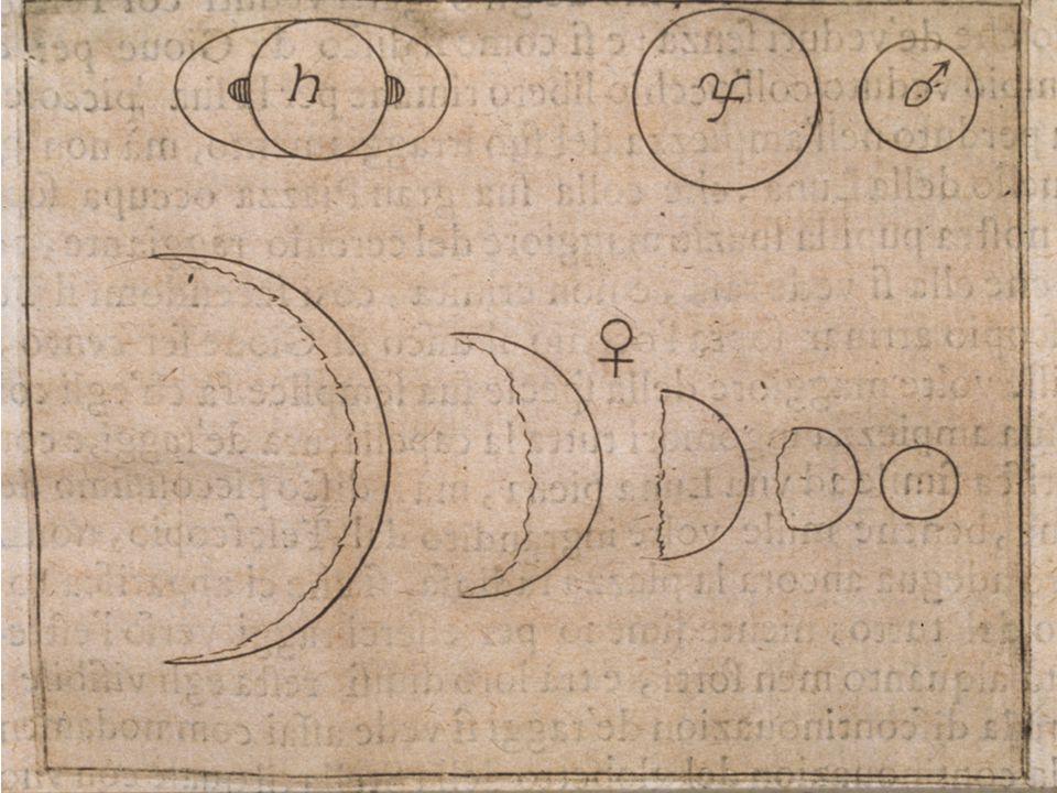 Galileo Galilei Galileos tegning av planetene