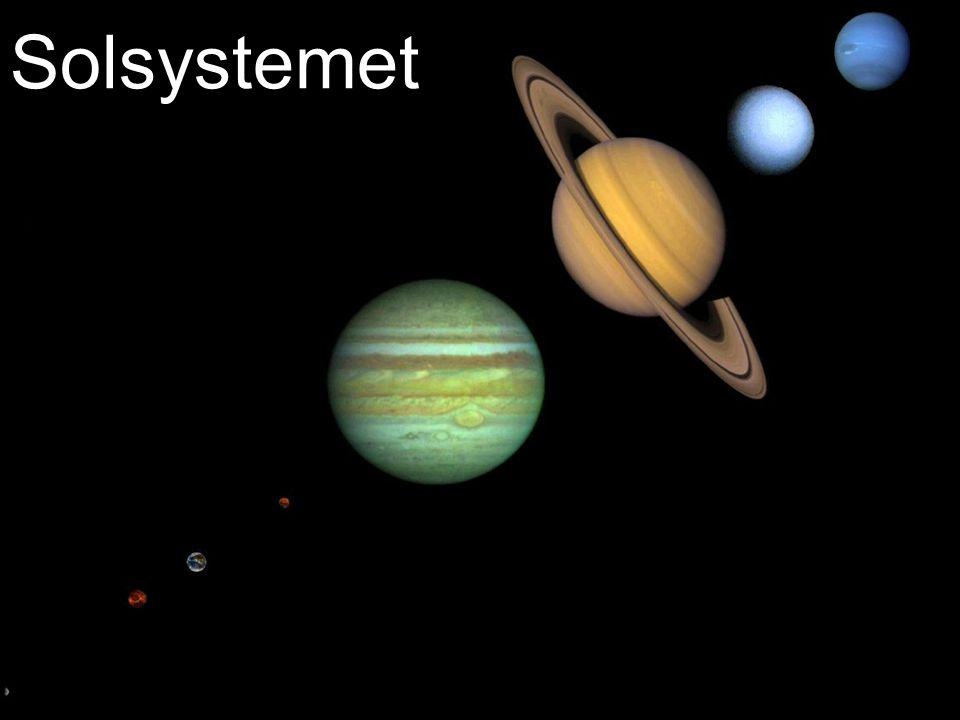 Solsystemet Med fokus på hvordan vi ser dem på himmelen