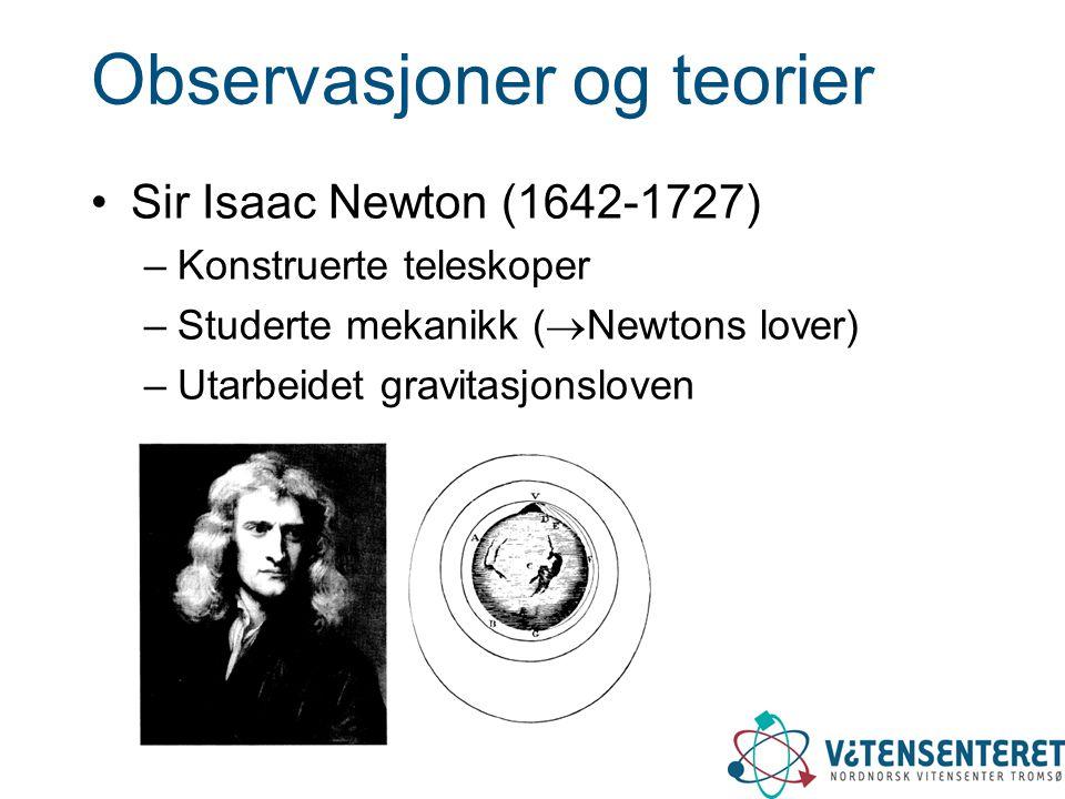 Observasjoner og teorier