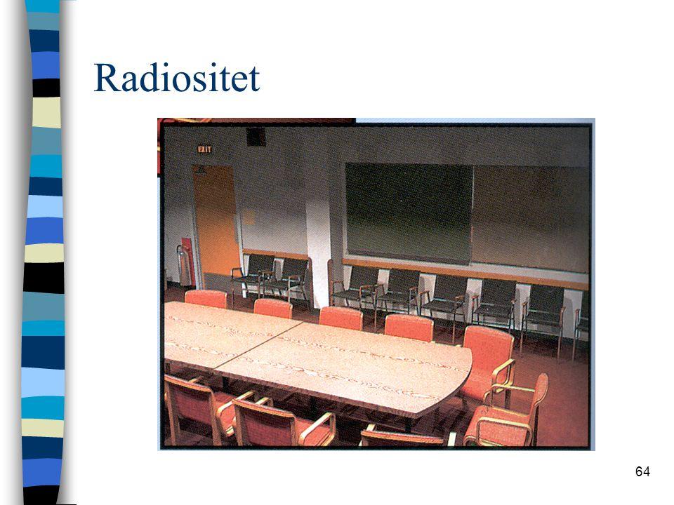 Radiositet