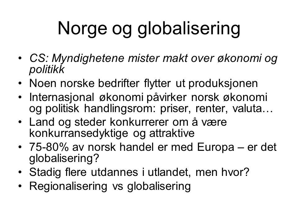 Norge og globalisering