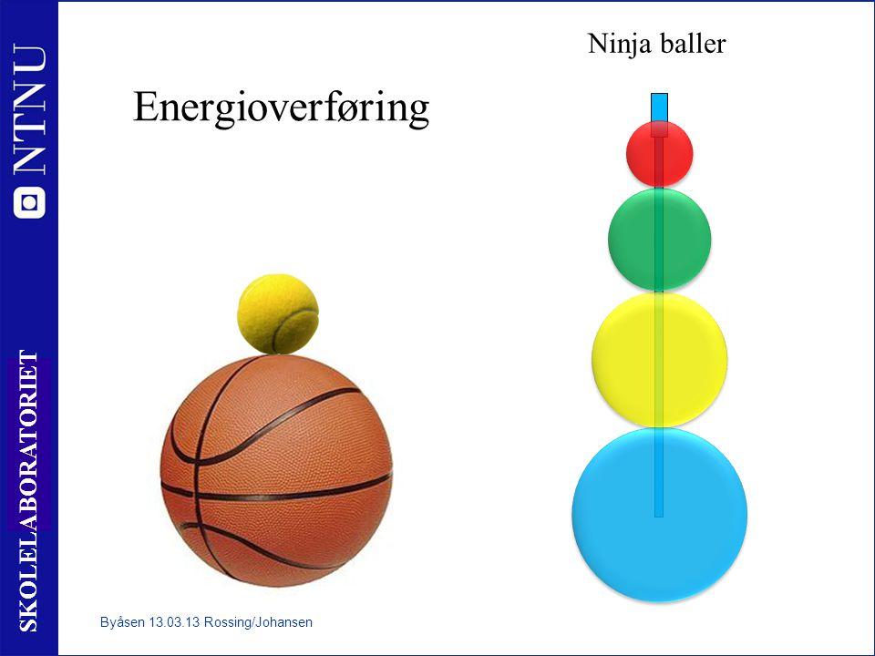 Ninja baller Energioverføring Byåsen 13.03.13 Rossing/Johansen