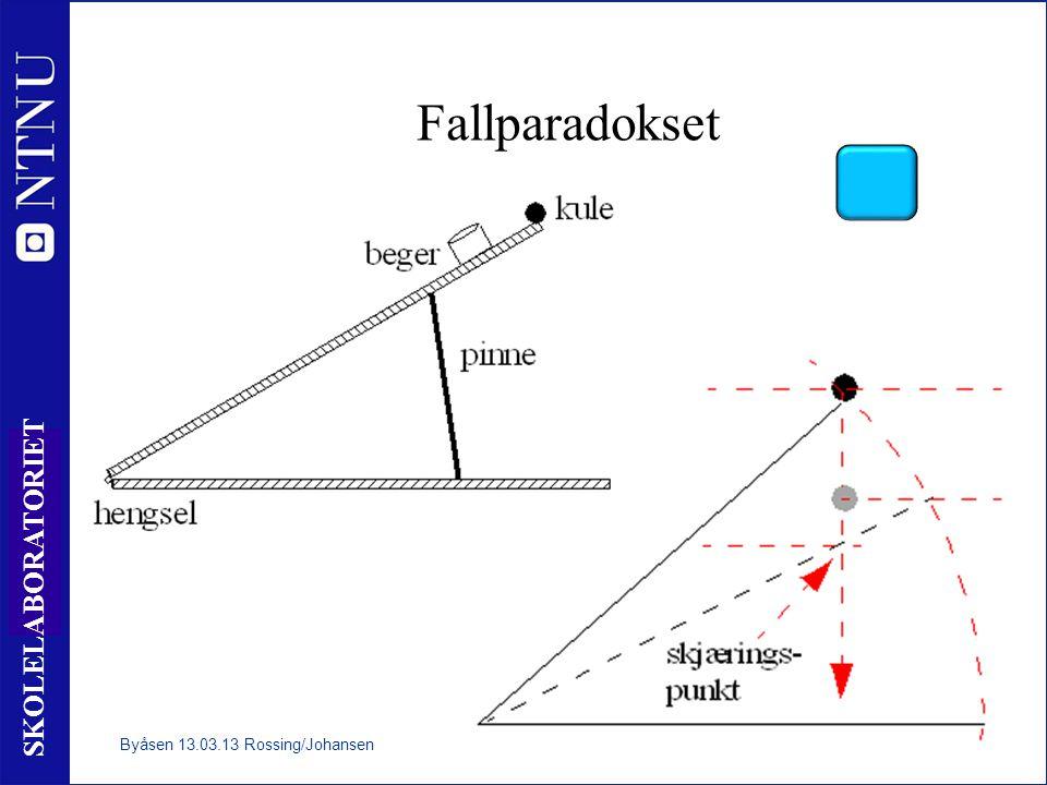 Fallparadokset Byåsen 13.03.13 Rossing/Johansen