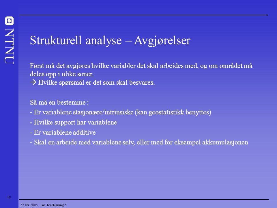 Strukturell analyse – Avgjørelser