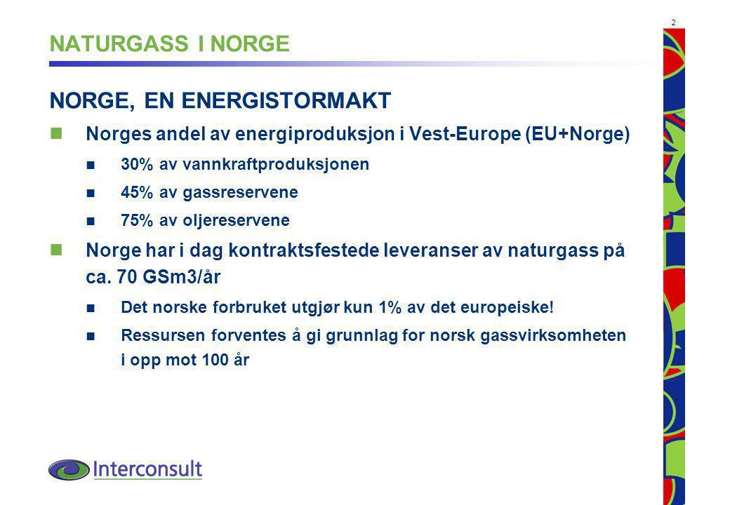 NORGE, EN ENERGISTORMAKT