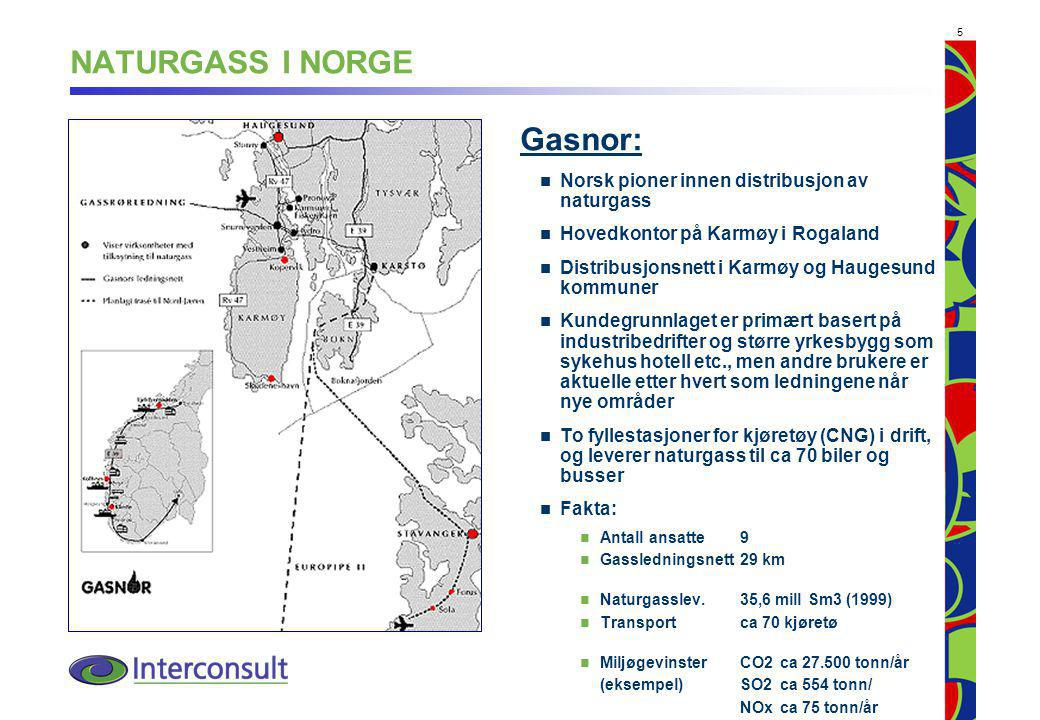 NATURGASS I NORGE Gasnor: Norsk pioner innen distribusjon av naturgass