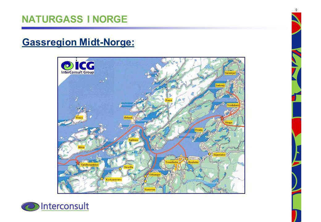 NATURGASS I NORGE Gassregion Midt-Norge: