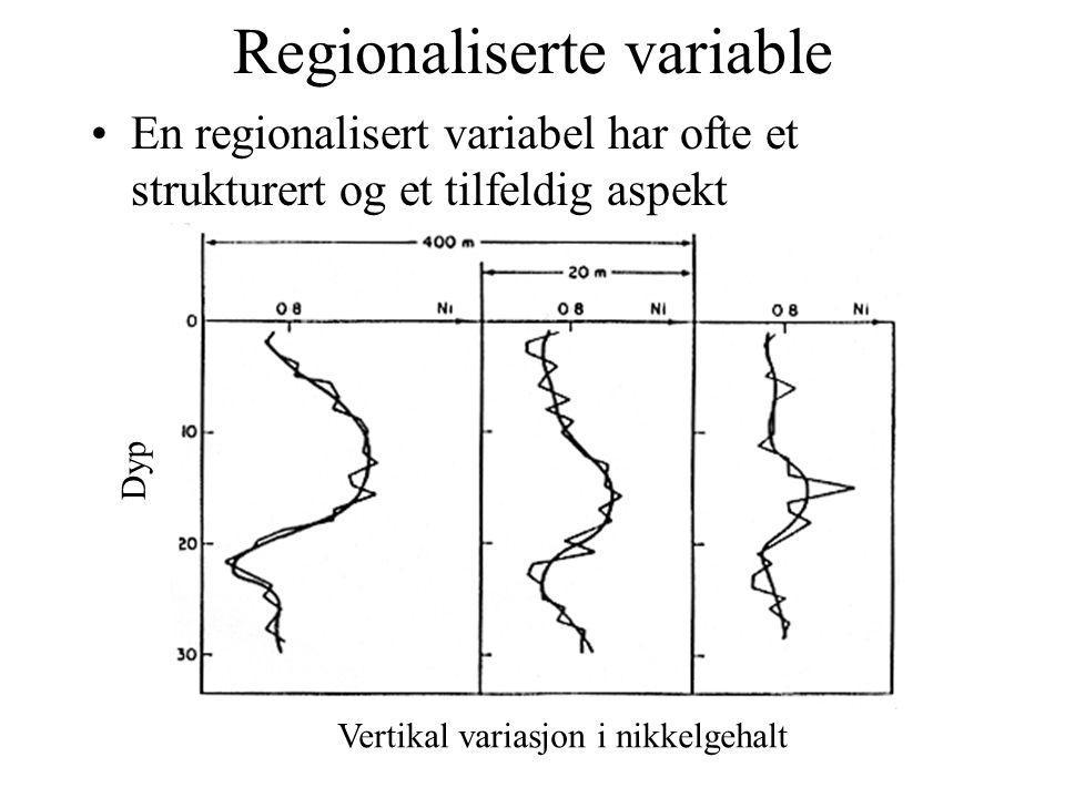 Regionaliserte variable