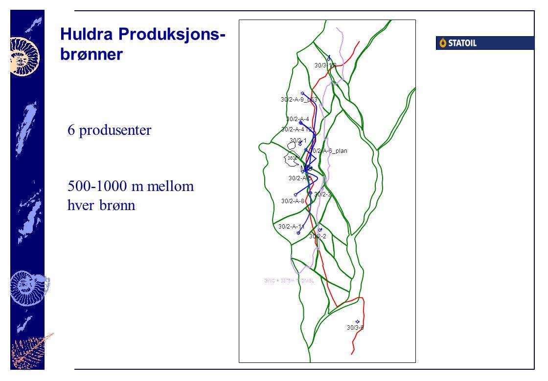 Huldra Produksjons- brønner