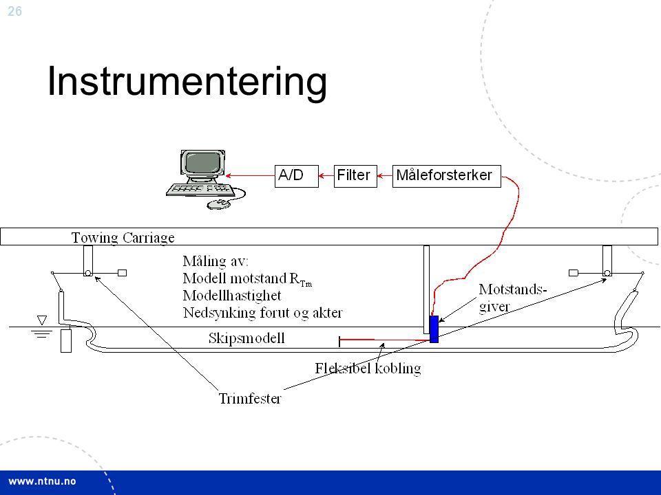 Instrumentering