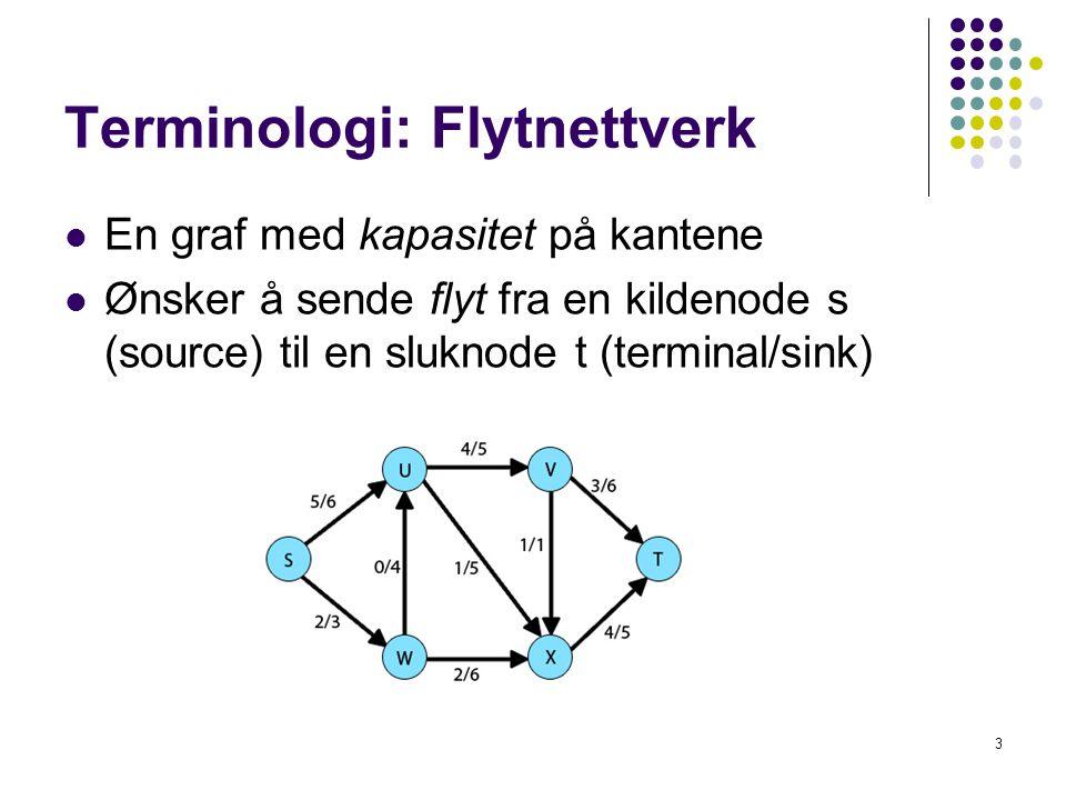 Terminologi: Flytnettverk
