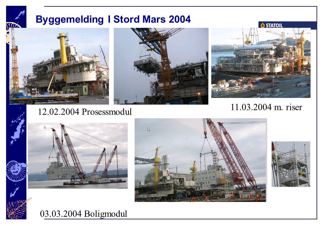 Byggemelding I Stord Mars 2004