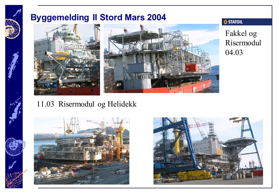Byggemelding II Stord Mars 2004