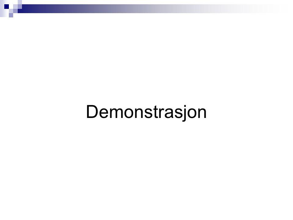 Demonstrasjon
