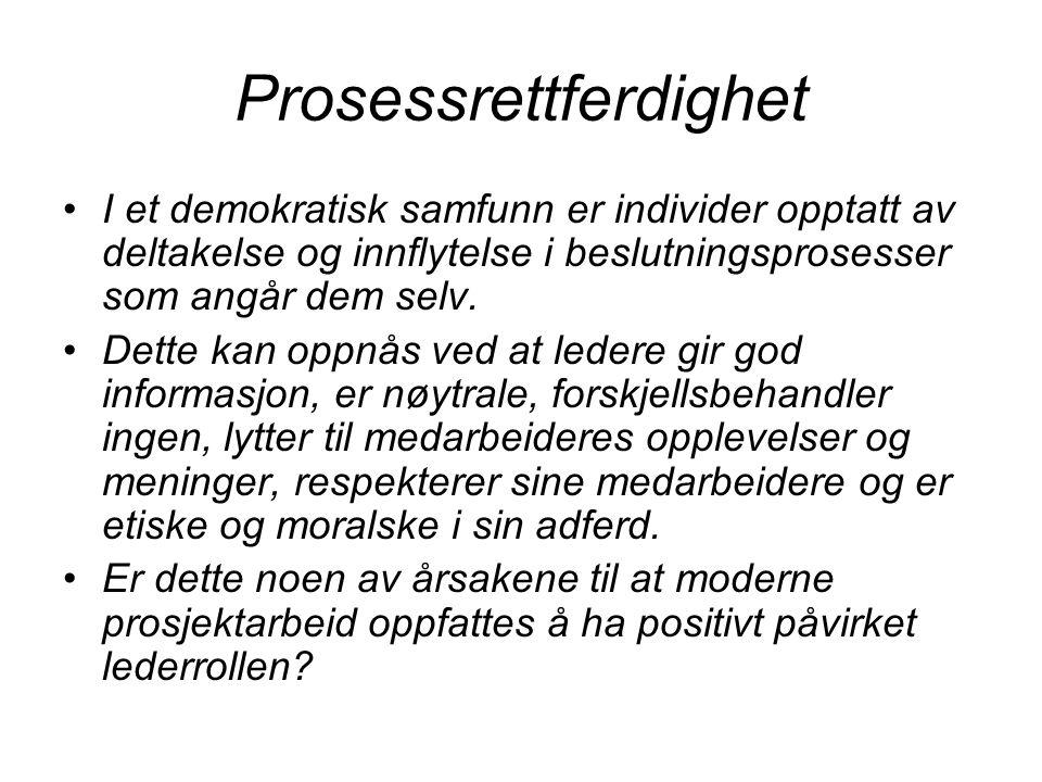Prosessrettferdighet