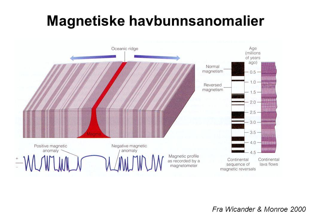 Magnetiske havbunnsanomalier